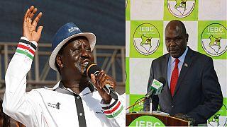 Kenya's EC says Raila Odinga's claims of hacking will be investigated