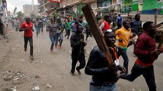 Manifestation d'opposants au Kenya