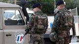 Paris'te askerlere saldıran kişi yakalandı