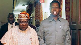 Nigeria's Obasanjo intervenes in Zambian opposition leader's detention