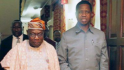 Nigeria's Obasanjo intervenes in Zambian opposition leader's detention
