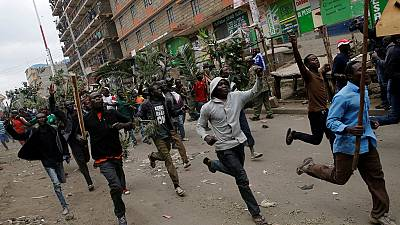 Election protests intensify in Kenya, government warns agitators [Photos]