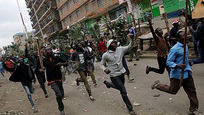Kenya: en images les violences suite à l'annonce des résultats provisoires, déjà quatre morts