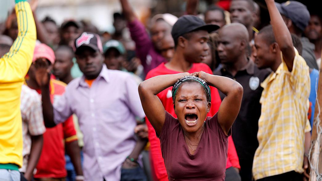 Two 'shot dead' in Kenya as violence follows claims of electoral fraud