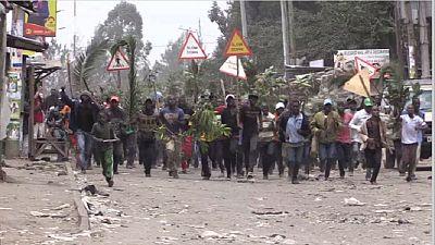 Kenya : des partisans de Raila Ondinga dans la rue