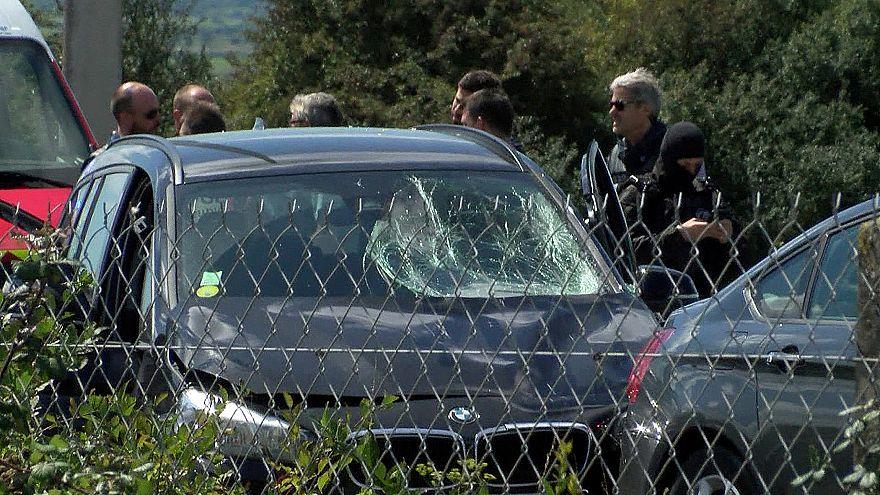 الشرطة الفرنسية تضبط سيارة دهست جنودا وتلقي القبض على السائق