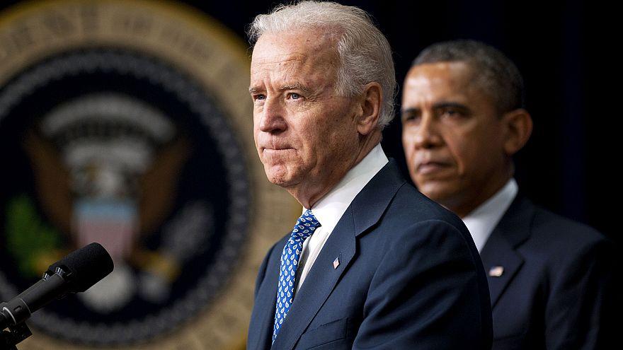Image: Vice President Joe Biden speaks before President Barack Obama signs