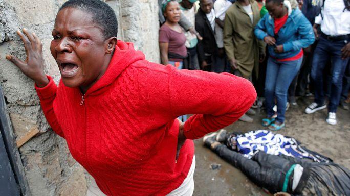Véres eredménye lett a kenyai elnökválasztásnak
