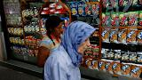 A Caracas, les files de la faim