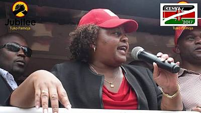 Kenya gets first female governor: Anne Waiguru of Jubilee Party jubilates