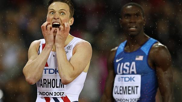 Surprise winners in the rain at the World Athletics Championships
