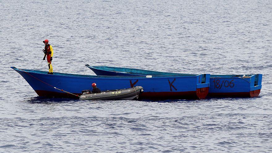 غرق عشرات المهاجرين بعد اجبارهم على القفز في المياه قبالة سواحل اليمن