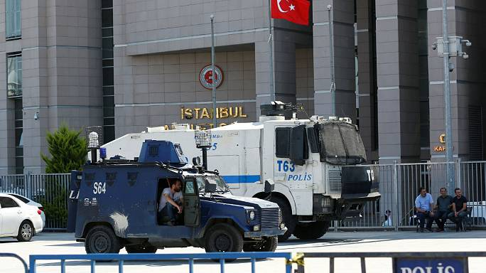 Turkey orders arrest of 35 people, including nine journalists, in latest crackdown