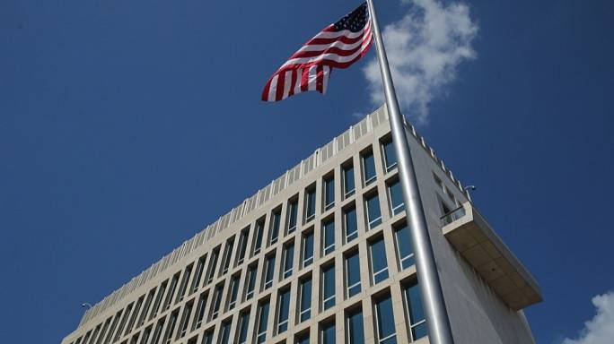 """""""Акустические атаки"""" на посольство США"""