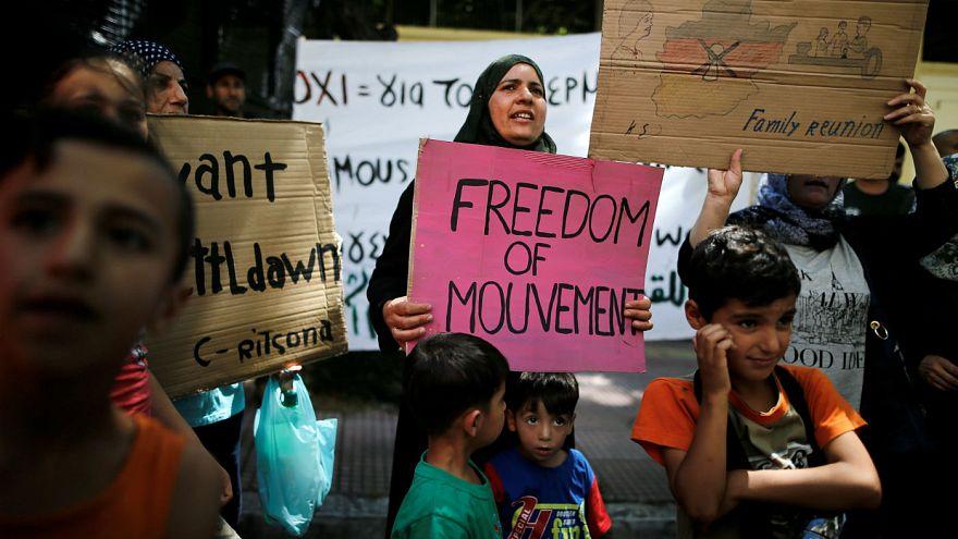 Греция снова принимает беженцев