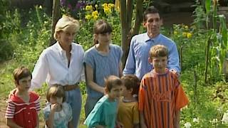 'Like a light at the end of the tunnel': Bosnian memories of Princess Diana