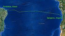 Submarine cable deployed in Angola to link Africa to South America