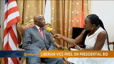 Liberia's vice-president Joseph Boakai seeks to replace Sirleaf [The Morning Call]