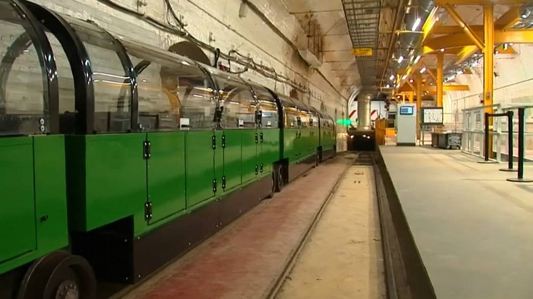 London's 'Mail rail' brought back to life as tourist attraction