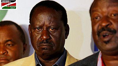 """Présidentielle/Kenya : Odinga doit être """"déclaré vainqueur"""", selon l'opposition"""