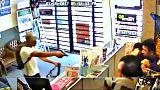 Ladenbesitzer wehren Diebe ab