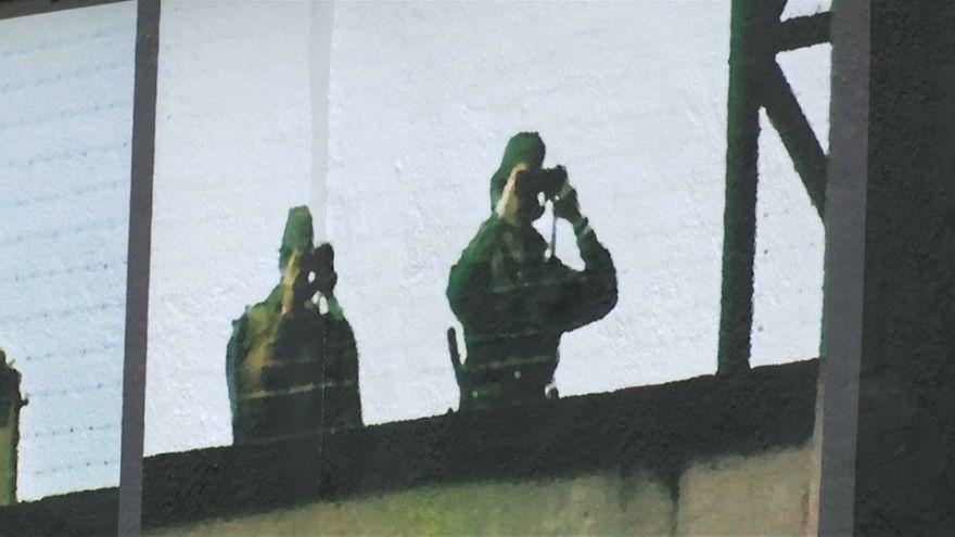 """Berliner Kunstprojekt """"Jenseits der Mauer"""""""