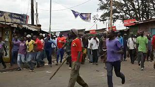 Kenya seçimlerinde Odinga'nın önde olduğu iddia edildi