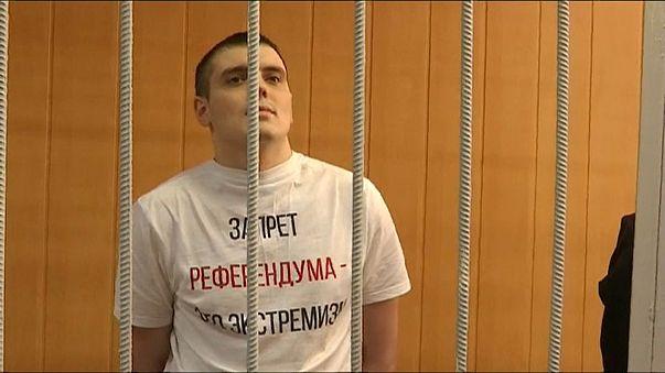 Elítéltek egy orosz újságírót