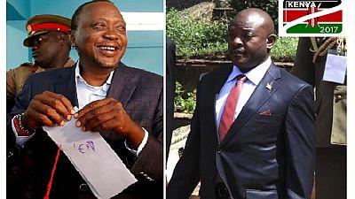Présidentielle au Kenya : le président Kenyatta en tête, l'opposition rejette les résultats