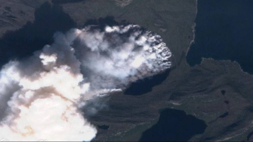Greenland's rare wildfire is 'biggest-ever'