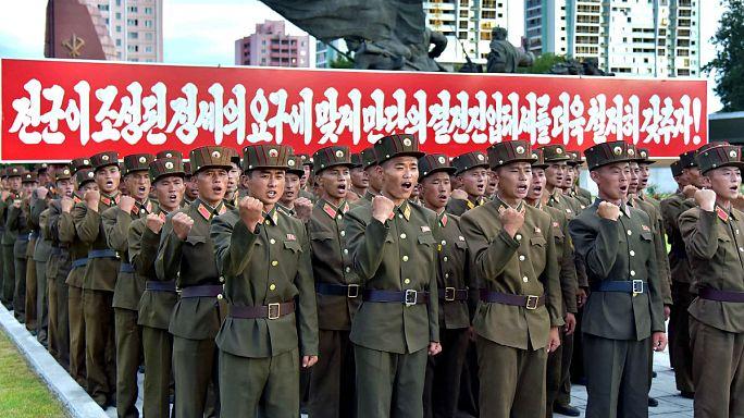 O poderio militar da Coreia do Norte