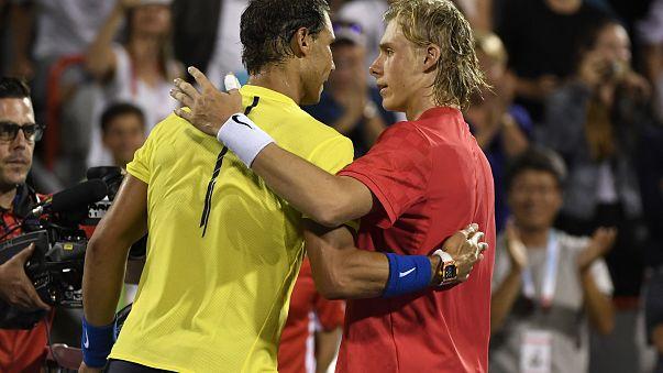 Jungspund Shapovalov überrascht Nadal