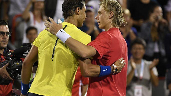 Tennis : Nadal sorti du tournoi de Montréal par le jeune Canadien Shapovalov