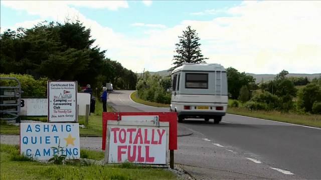 Touristen überrennen schottische Insel