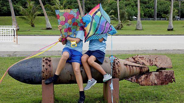 Vegyes a hangulat Guamon