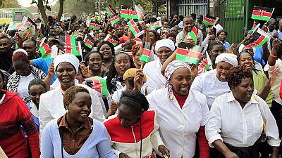 22 women make grand entry into Kenya's parliament