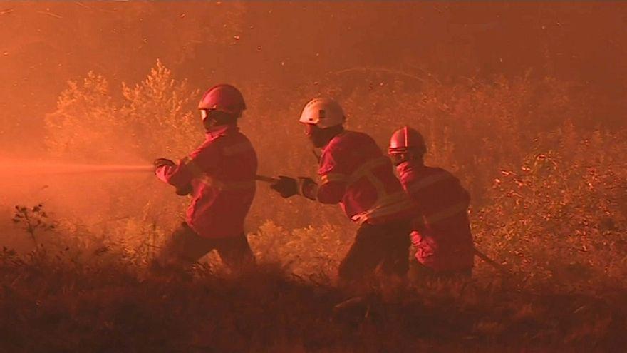 Erneut schwere Waldbrände in Portugal