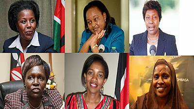Kenya's history-making women elected governors, senators