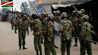 Kenyan police take measures against protests ahead of result announcement