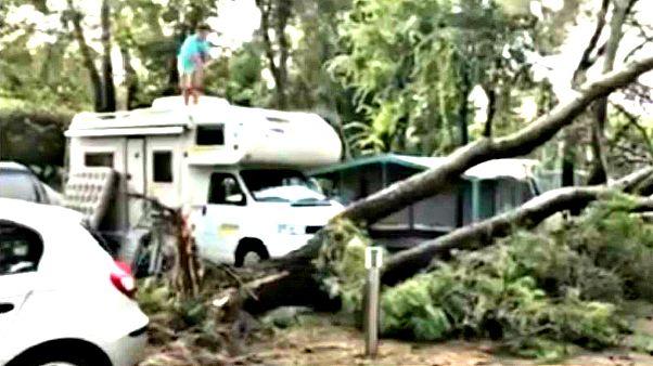 Ιταλία: Σαρωτική καταιγίδα