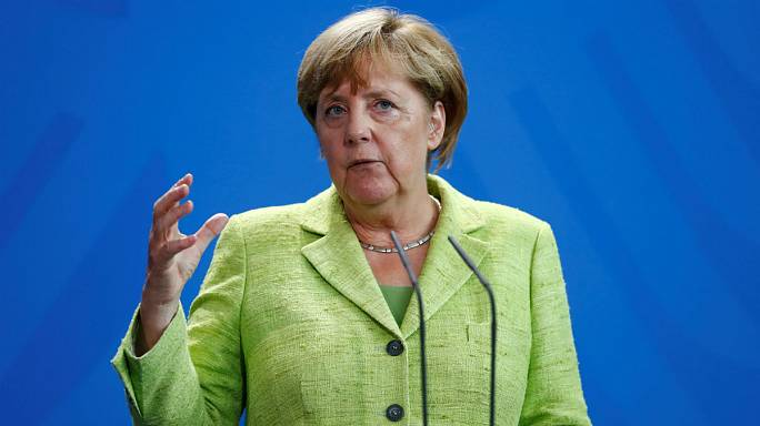 Merkel 'does not see a military solution' to US-North Korea conflict