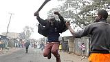 Nem engednek a tiltakozók Kenyában