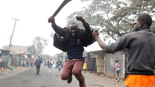 Kenya'da muhalefetin sokak protestoları devam ediyor