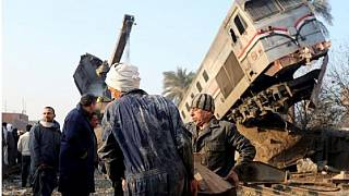 At least 21 killed, 55 injured after two trains collide in Egypt's Alexandria
