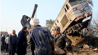 Collision de trains en Egypte : au moins 36 morts (nouveau bilan)
