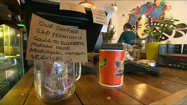 Melbourne cafe introduces 'man tax' to highlight gender pay gap.