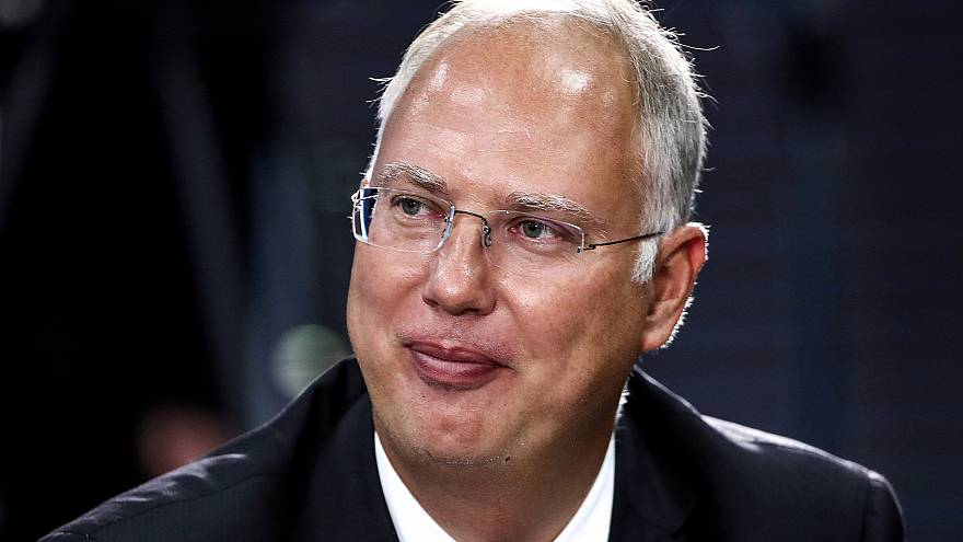 Image: FILE PHOTO: Russian Direct Investment Fund CEO Dmitriev waits before