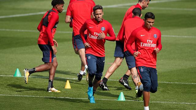 Neymar vor Debüt bei Paris Saint-Germain