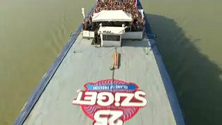 Sziget-Festival: Sightseeing-Tour auf einem Party-Boot