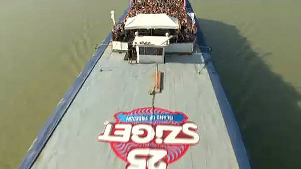 """Il """"Boat Party"""" del Sziget Festival"""